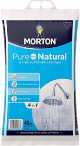 water softener salt product which contains crystal salt made with natural practices
